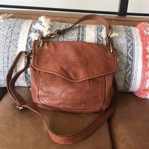 Fossil Long Live Vintage 1954 Saddle Leather Bag